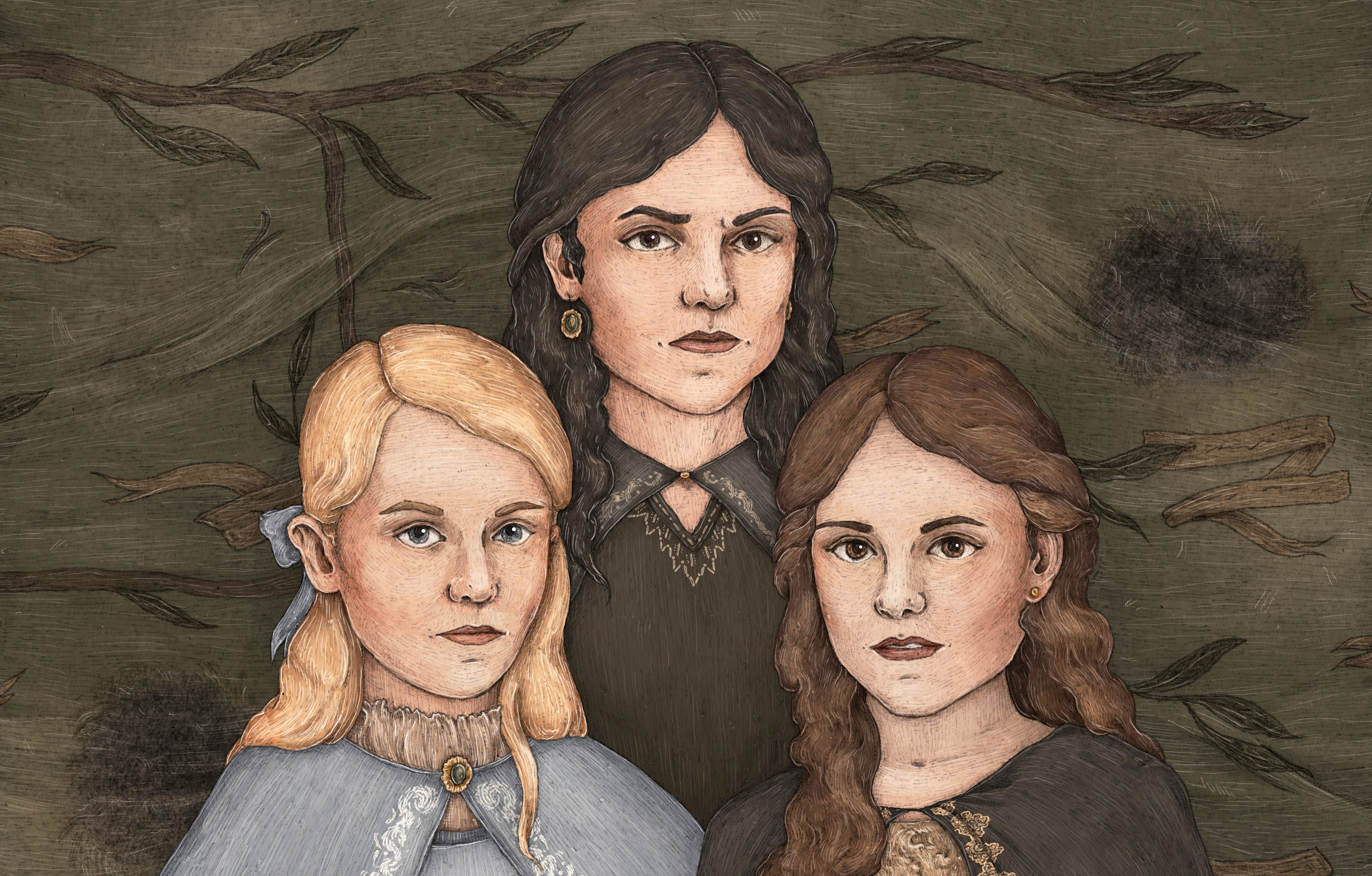 Andromeda, Narcissa and Bellatrix – a tale of three sisters