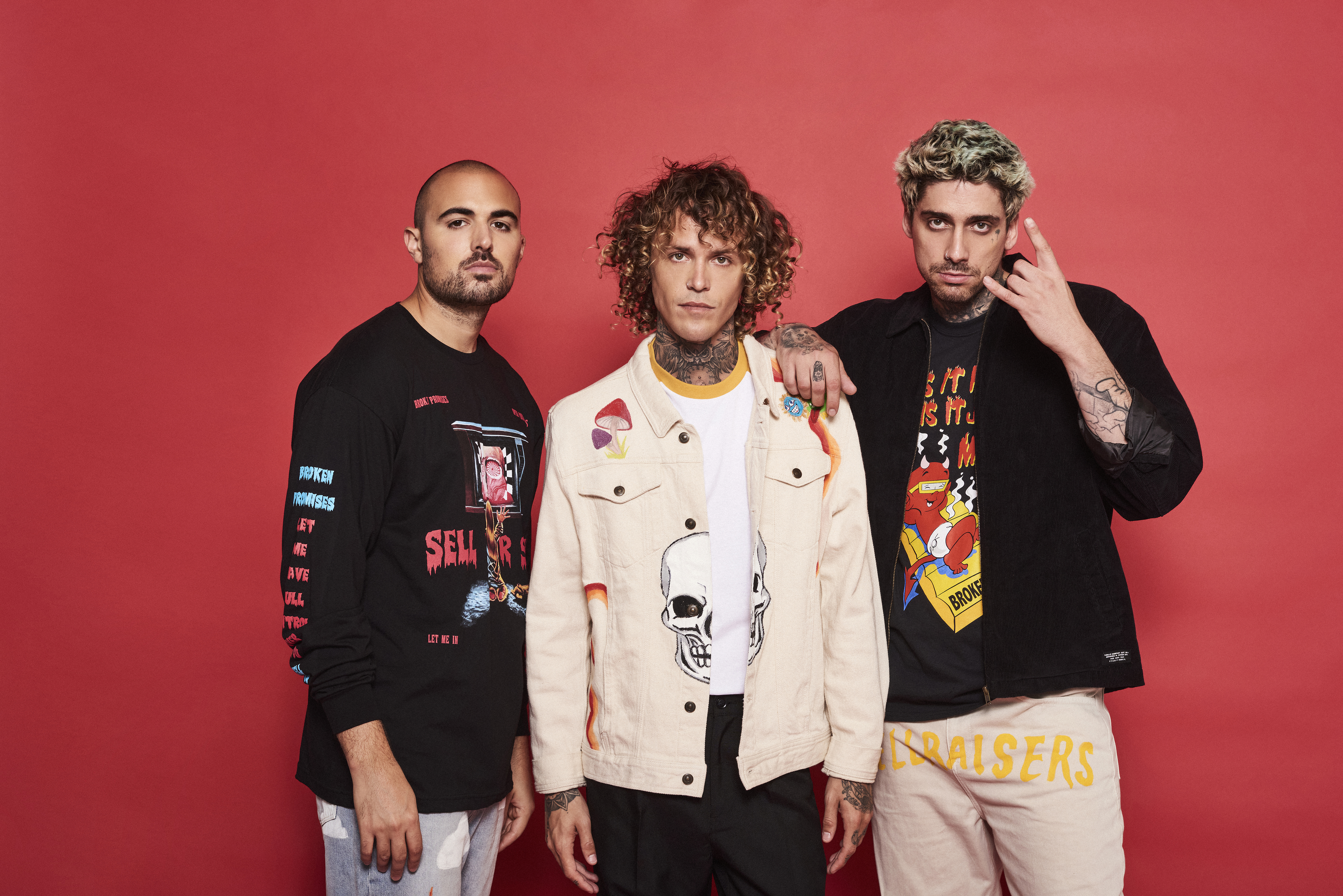 Cheat Codes trio Kevi, Trevor Dalh, and Matthew Russell
