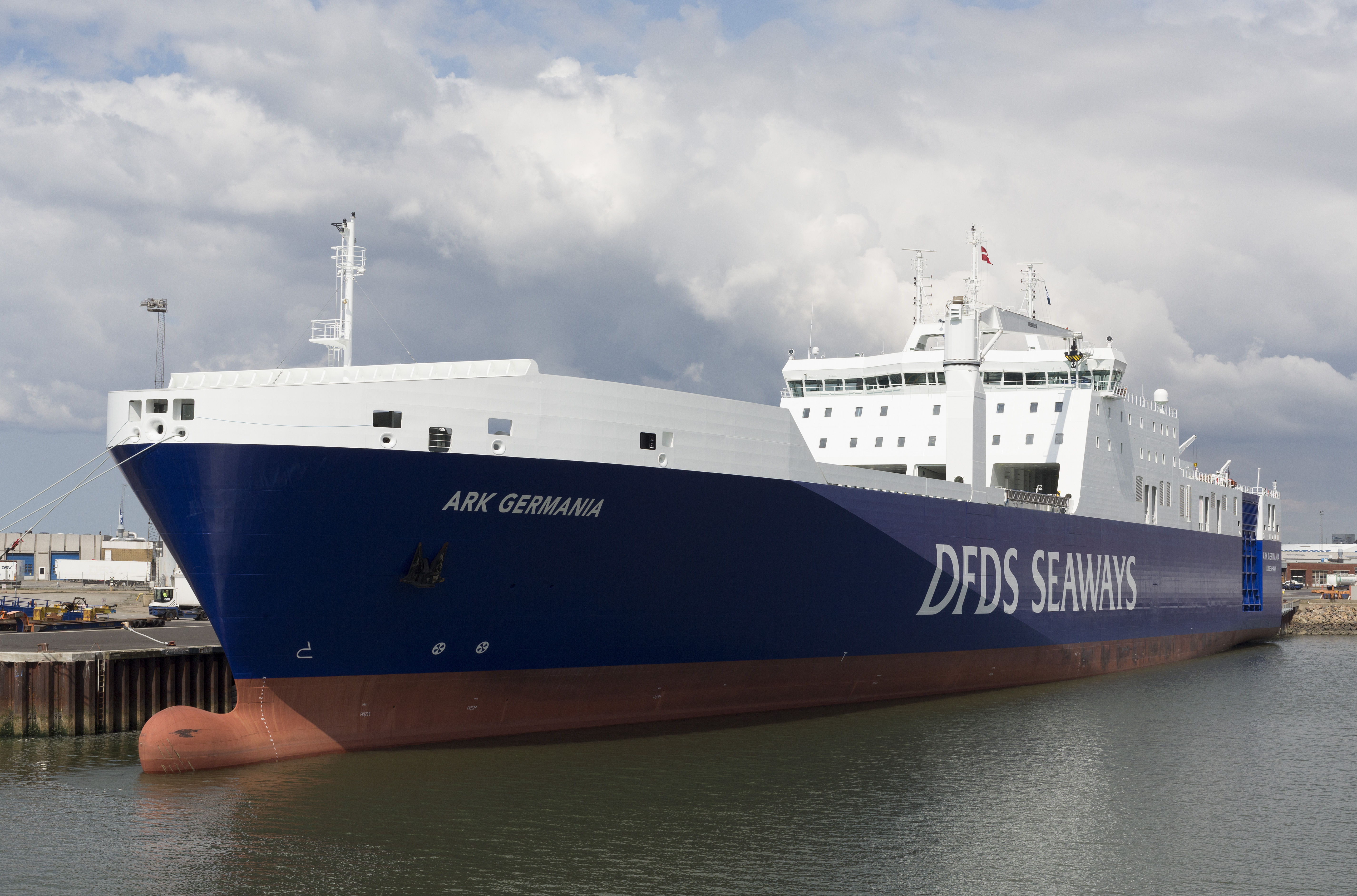 DFDS vessel Ark Germania