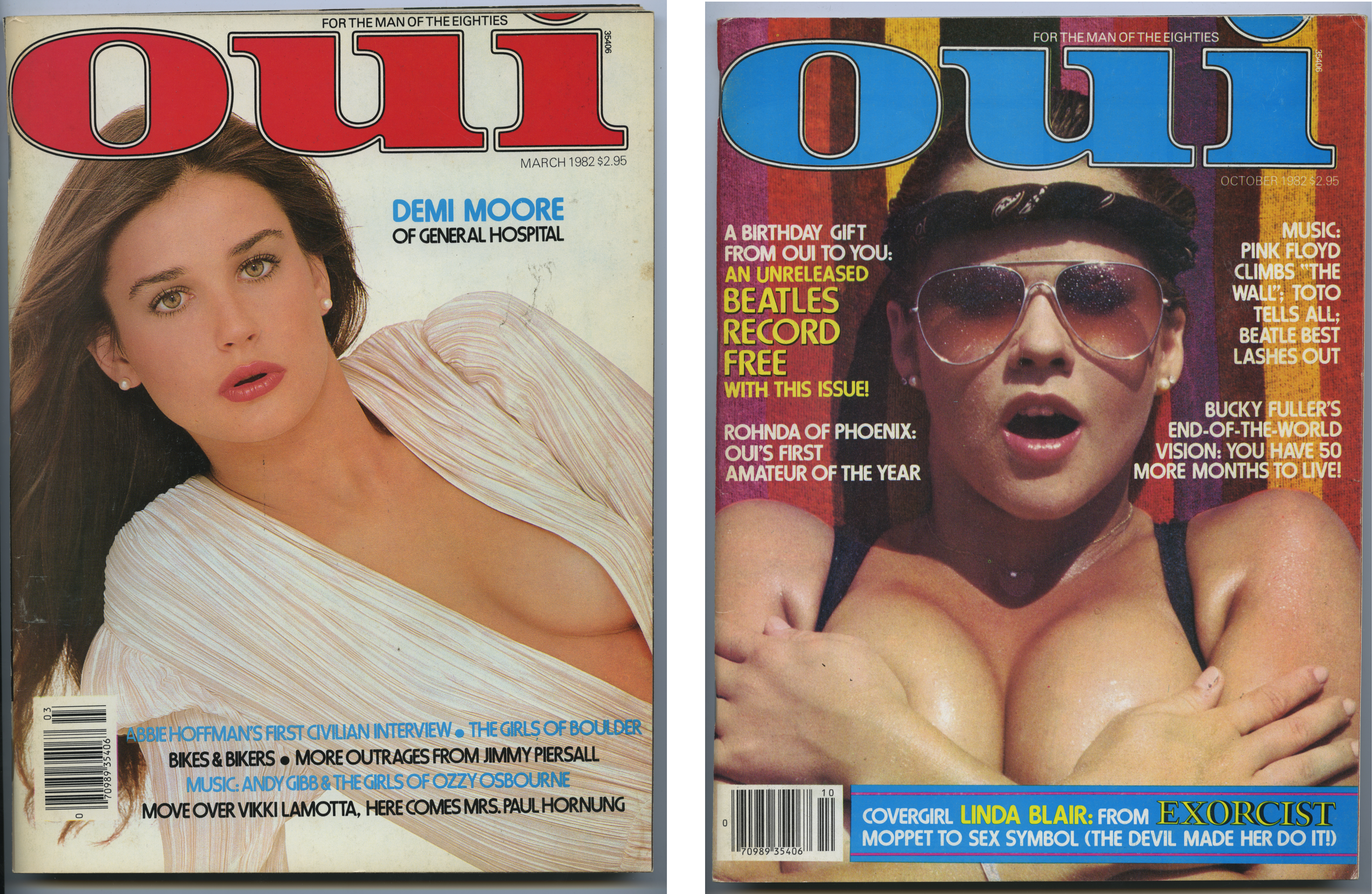 Dian Hanson was the editor-in-chief of OUI Magazine