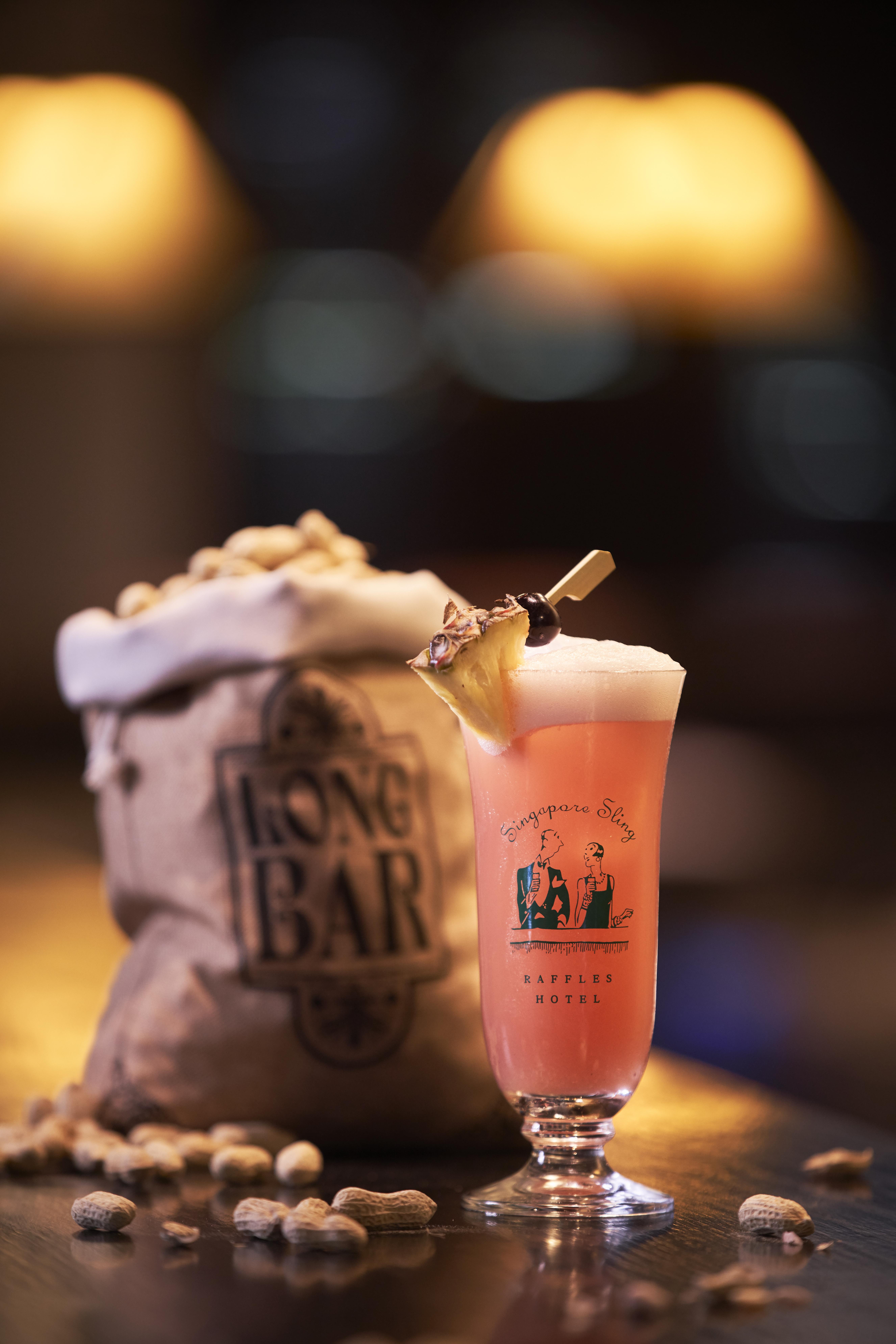 Long Bar - Singapore Sling