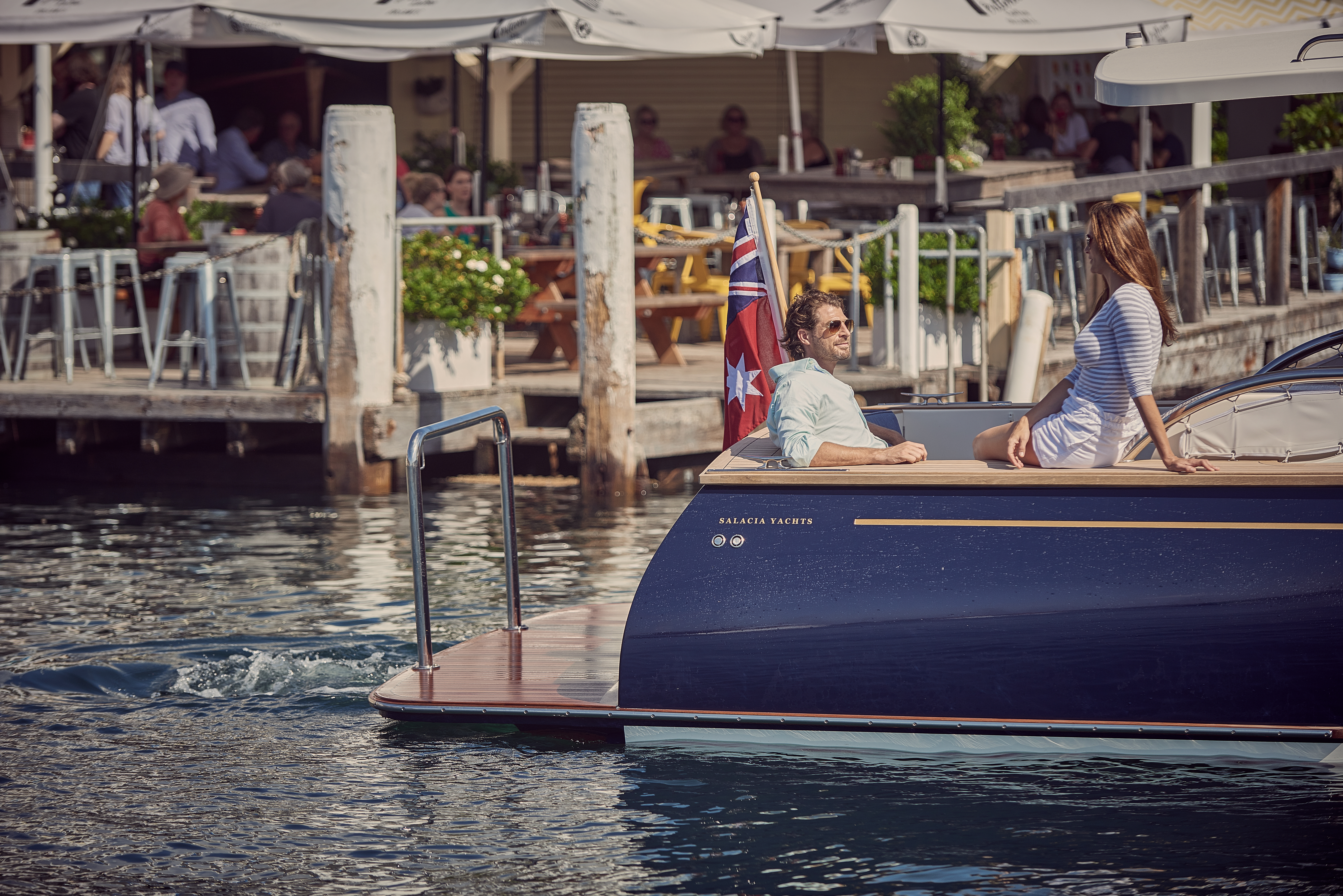 This Cruiser Is The Perfect Picnic For The Pond Robb Report Australia