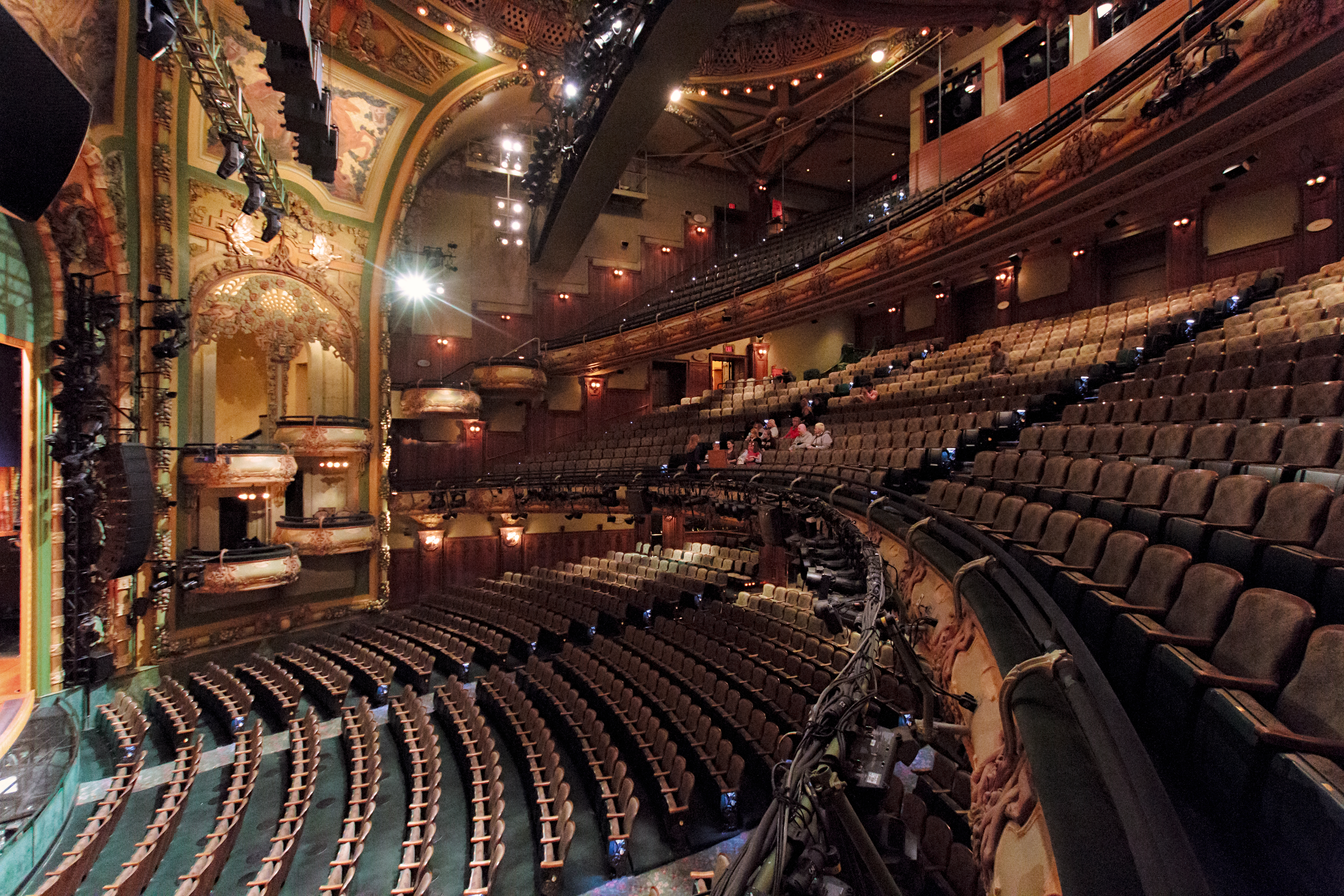 Seeing the New Amsterdam Theatre in all its glory is like a show in itself