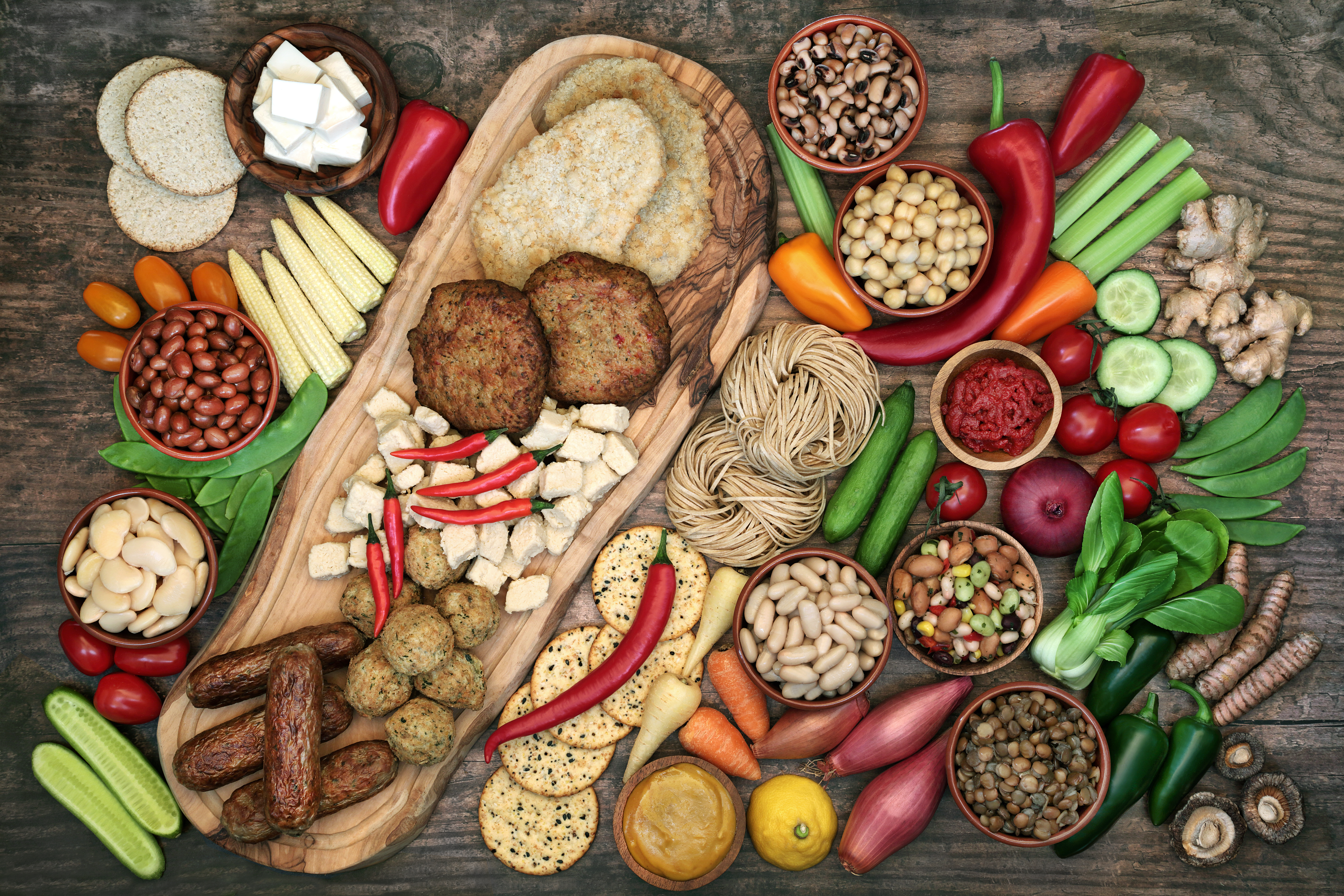 5 Delicious Protein Packed Meat Free Alternatives